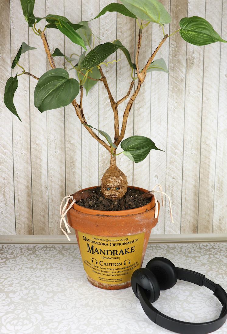 Mandrake-DIY tutorial for Harry Potter lovers