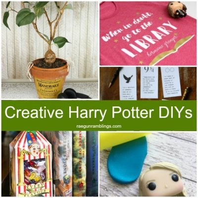 Harry Potter DIY Mandrake Printables Bookends and More