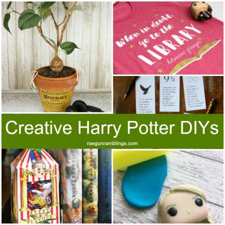 awesome creative harry potter diy tutorials