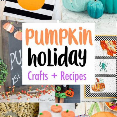DIY Pumpkin Crafts Decor Recipes and Block Party