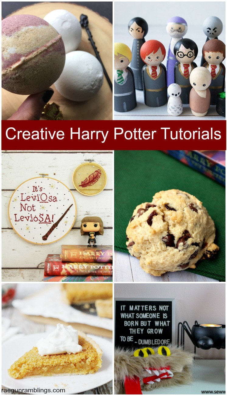 brand new super unique harry potter tutorials and recipes