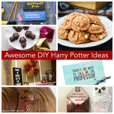 Harry Potter Butterbeer Cookies Home Decor and Back to School Basics