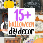 easy DIY halloween Decor tutorials