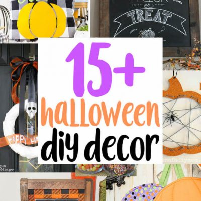 DIY Halloween Decor Ideas and Link Party