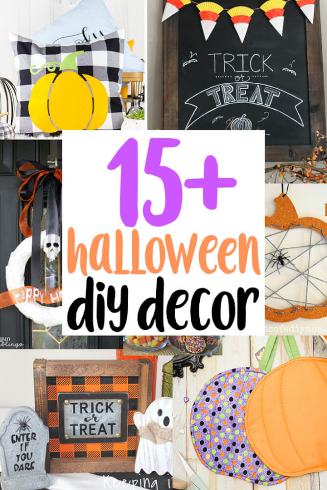 halloween DIY Decor tutorials