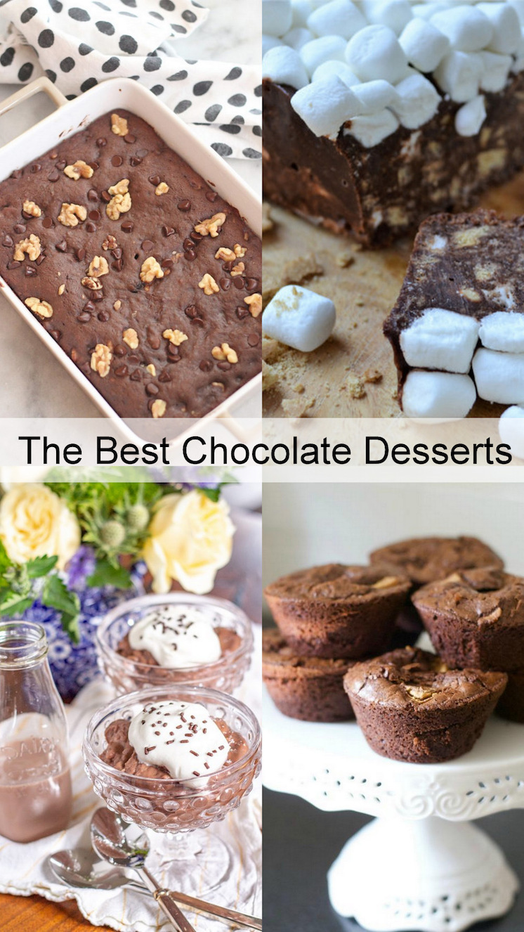Chocolate desserts and recipes