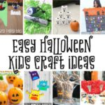 Easy Halloween Kids Crafts and halloween class party ideas and tutorials