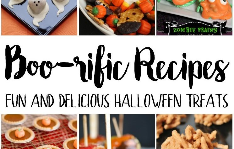 awesome resource for cute and easy Halloween party food and recipes