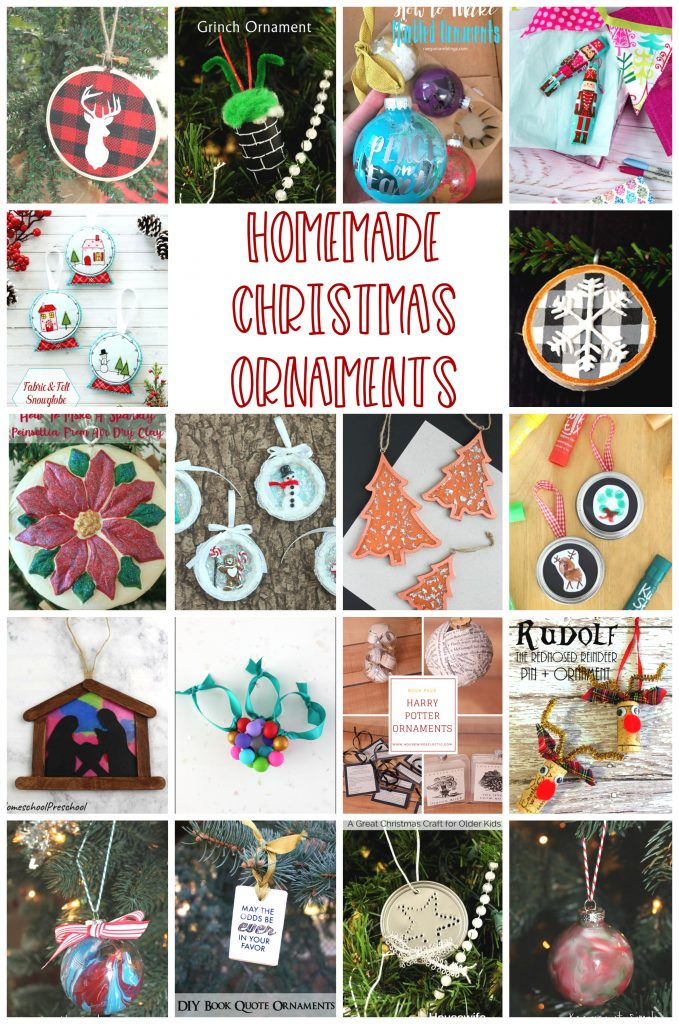 DIY Homemade-Christmas-Ornament-Ideas-and Tutorials