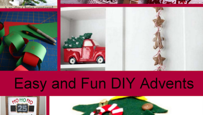 DIY Advent Calendars and Block Party