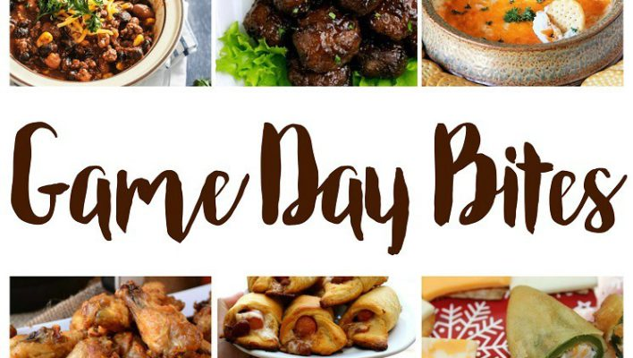Game Day Bites Recipes and Block Party
