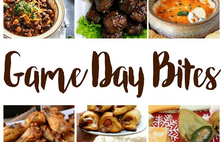 Game Day Bites appetizer and snack recipes for tailgaiting