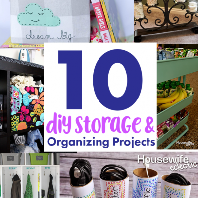 Ideas for Getting Organized and Block Party