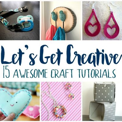 Creative Craft Tutorials and Block Party