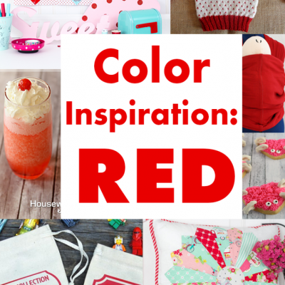Color Inspiration Red and Block Party