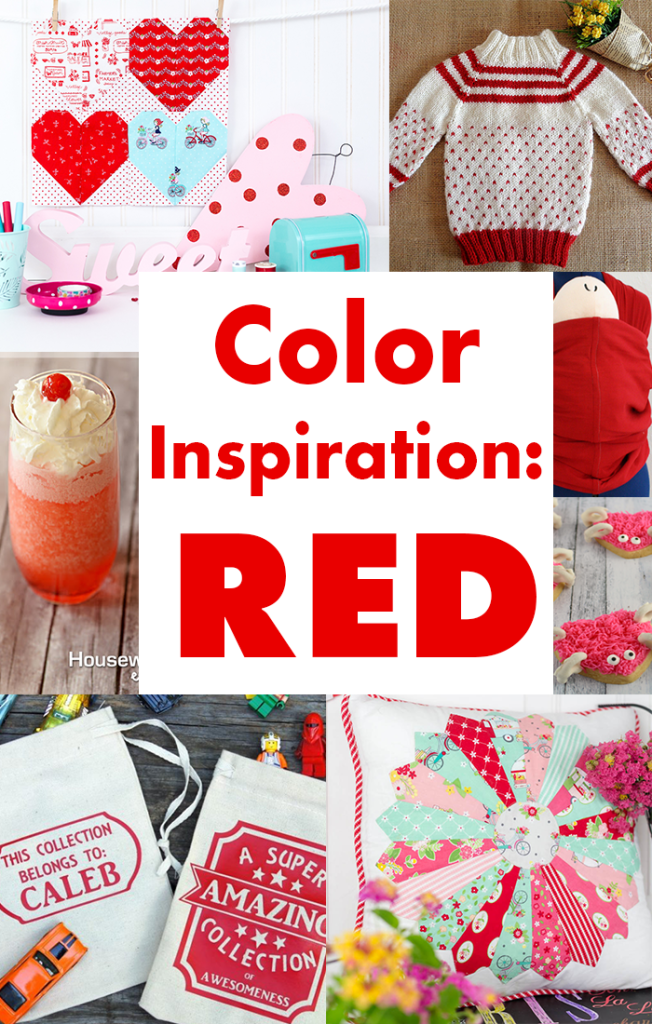 Color-Inspiration-Red DIY crafts and recipes