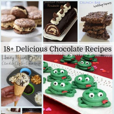 Delicious Chocolate Recipes and Block Party