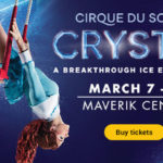 Cirque du Solei Crystal ice show