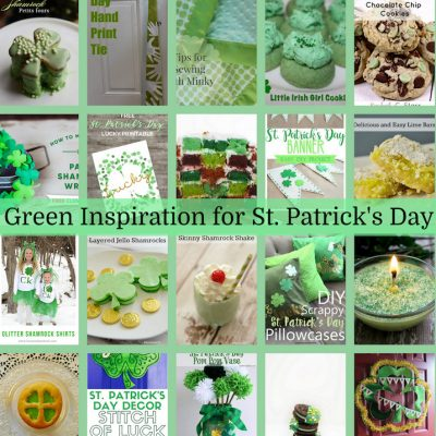 St. Patricks Day Green DIY Ideas and Block Party