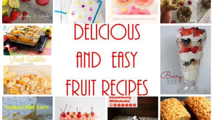 Delicious Fruit Recipes and Block Party