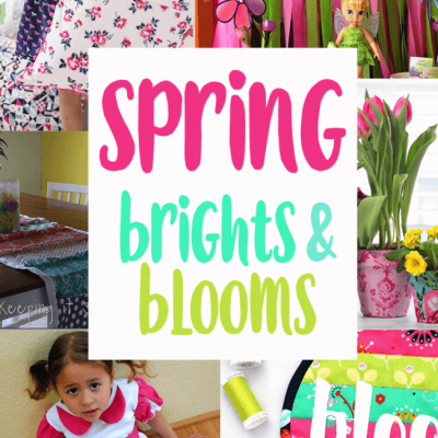 DIY Spring Brights Blooms and Block Party