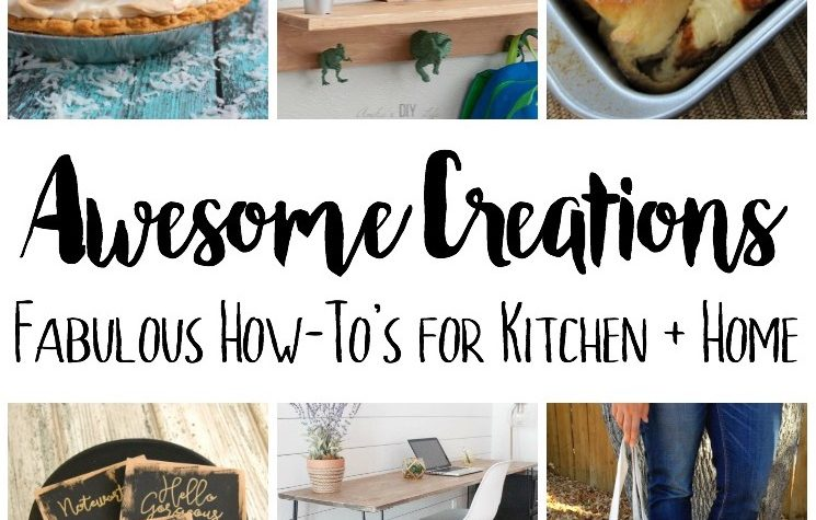 creative recipes and creative DIY craft tutorials