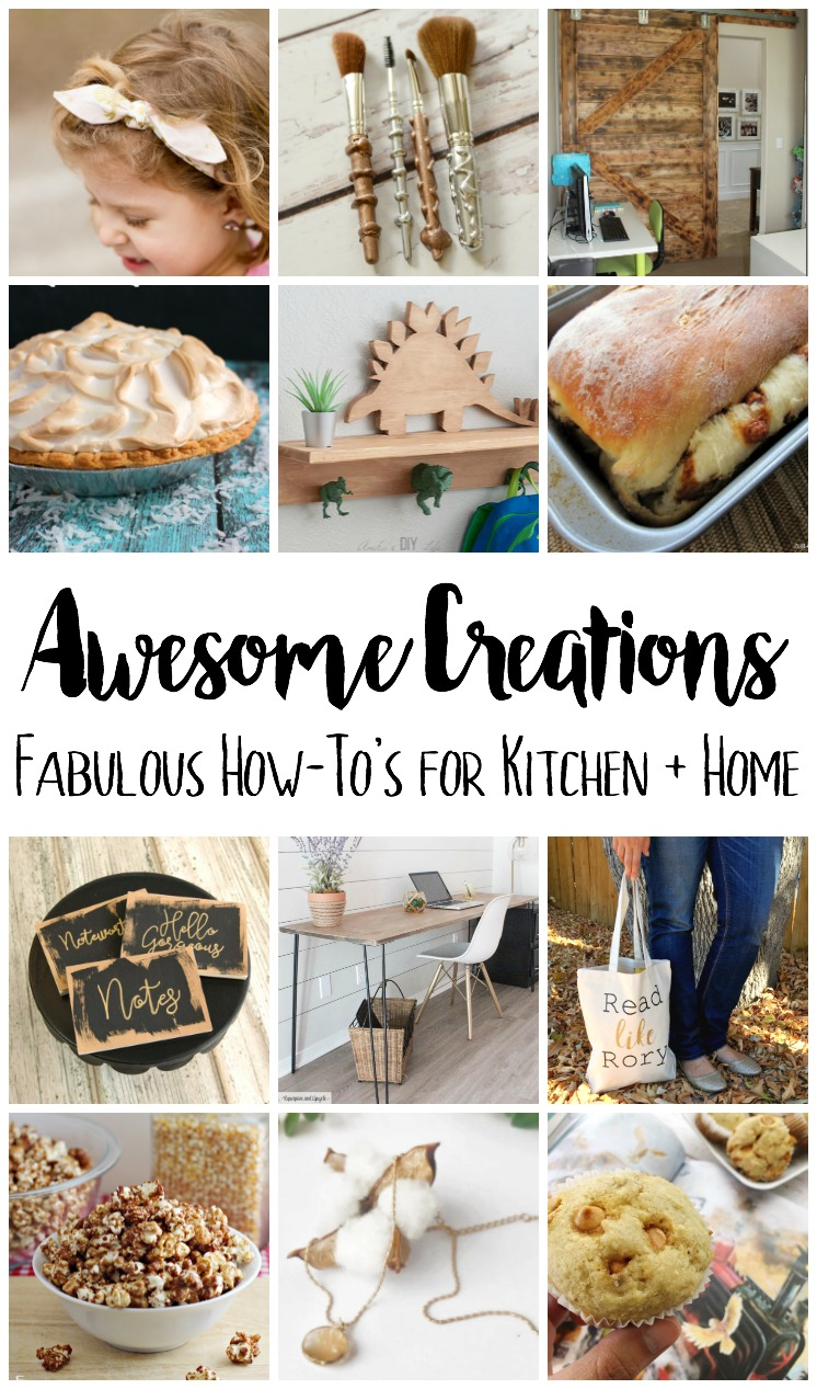 delicious recipes and creative DIY craft tutorials