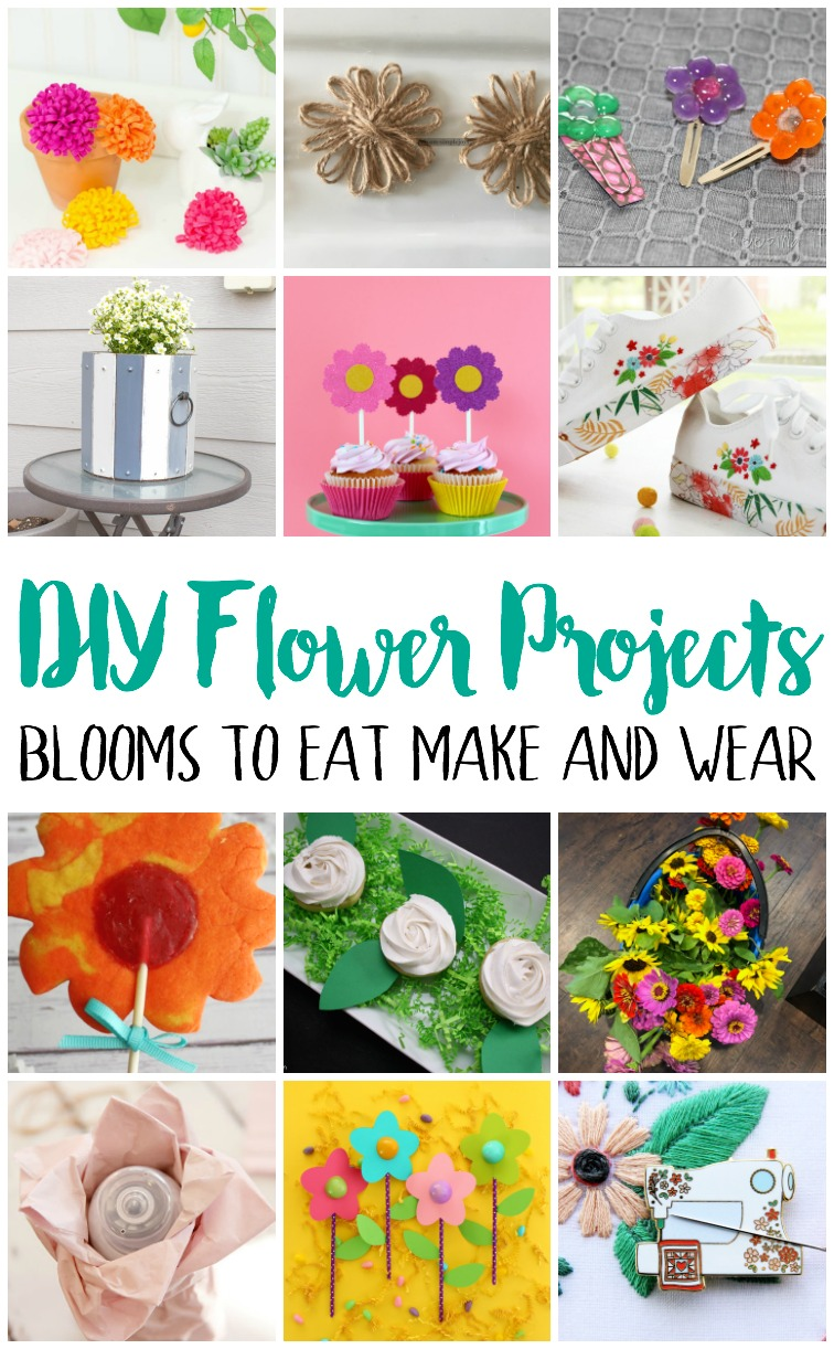 DIY Flower Projects and Recipes