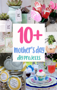 DIY mother's day crafts and gift ideas