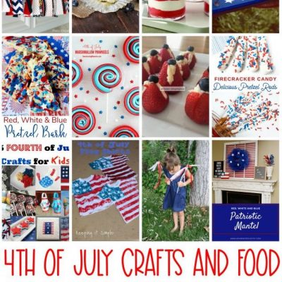 4th of July Crafts Food and Block Party