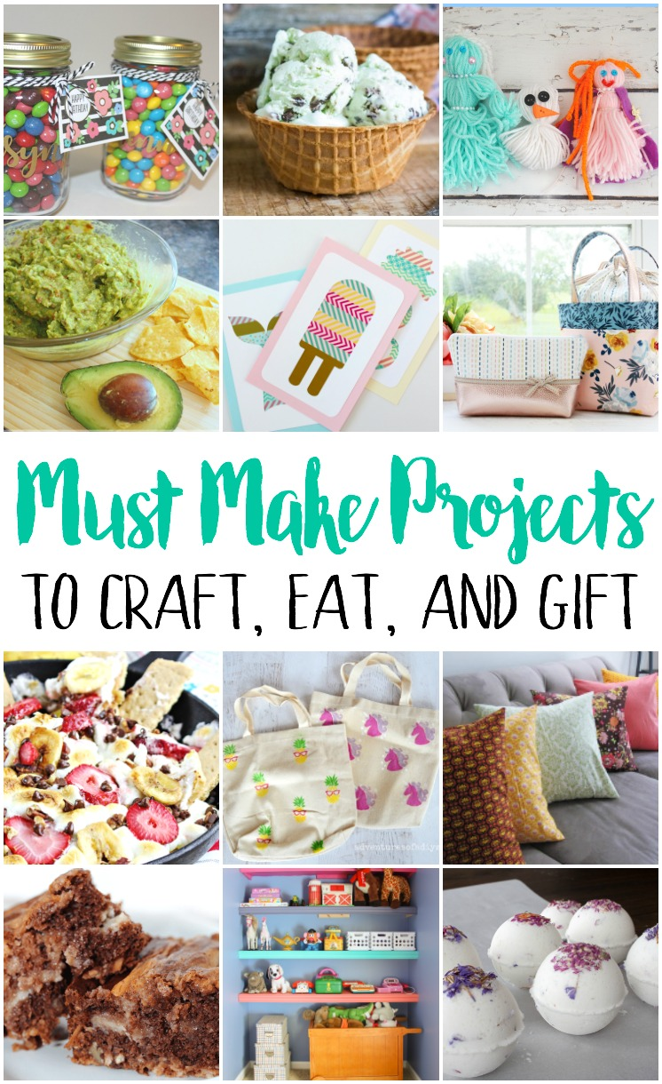 DIY crafts recipes and gift ideas perfect for summer