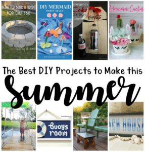 Summer DIY projects and tutorials
