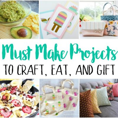 Summer Crafts Recipe Ideas and Block Party