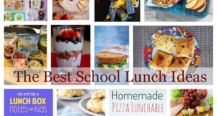 Ideas for School Lunch