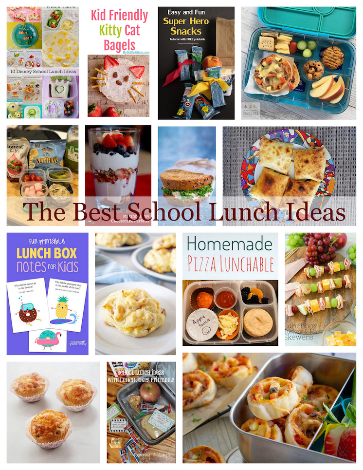 School Lunch Ideas perfect for Back-to-school
