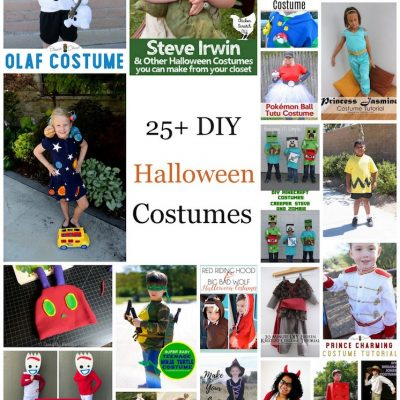 DIY Halloween Costumes and Block Party