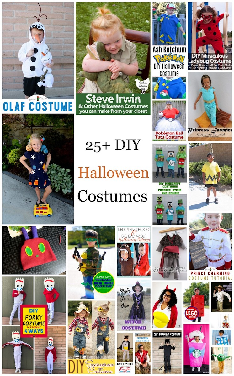 DIY Halloween costumes great tutorials and inspiration