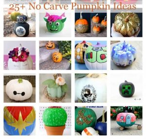 Lots of DIY Pumpkin Ideas for Kids