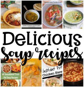 Soup Recipes Crock Pot and Instant Pot