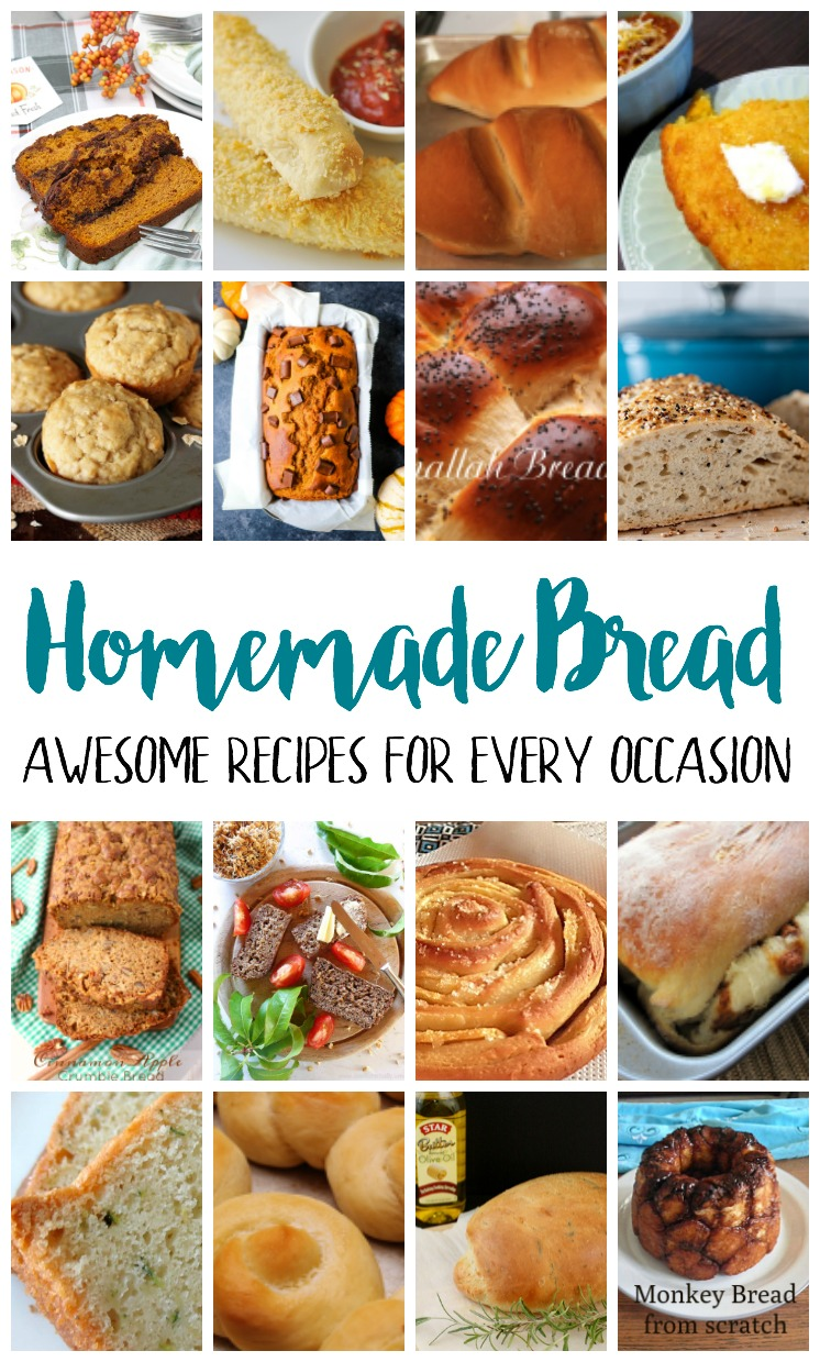 homemade bread recipes for every occasion