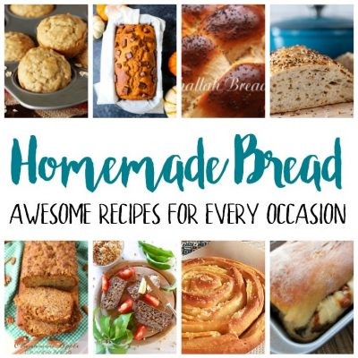 Delicious Homemade Bread Recipes and Block Party