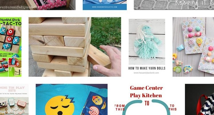 DIY Gifts for Kids and Block Party
