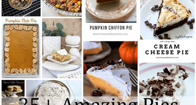 Over 25 Amazing Pie Recipes and Block Party