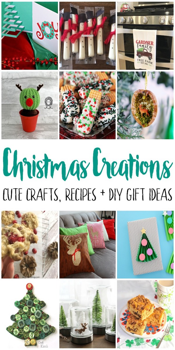 Christmas creations crafts recipes and gifts. Great kids activities, holiday decorations and party ideas