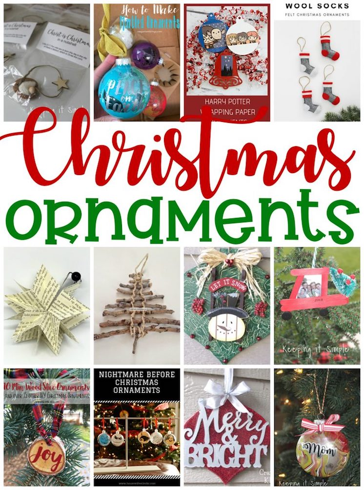 DIY Christmas Ornaments to make