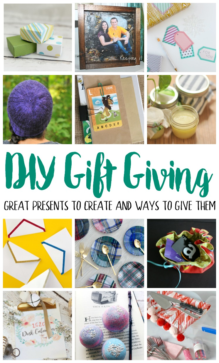 DIY Gift Giving Tutorials