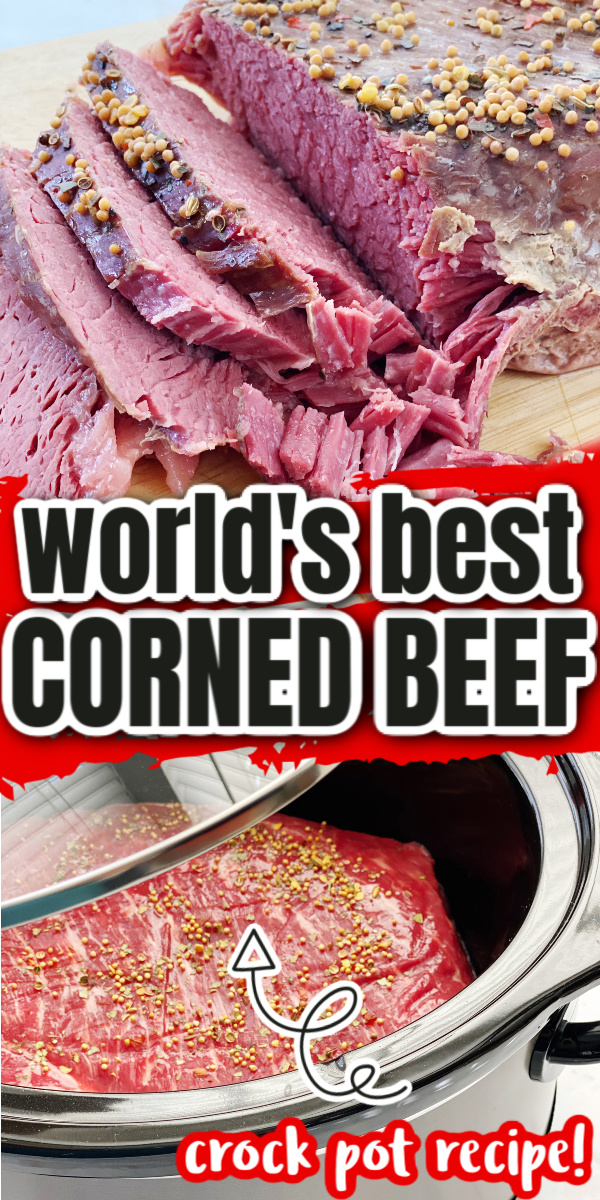 How to make corned beef in the crock pot. super easy recipe turns out perfect every time