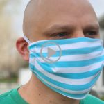 best fitting free face mask tutorial and pattern with kid and adult sizes