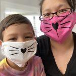 easy cat face mask tutorial