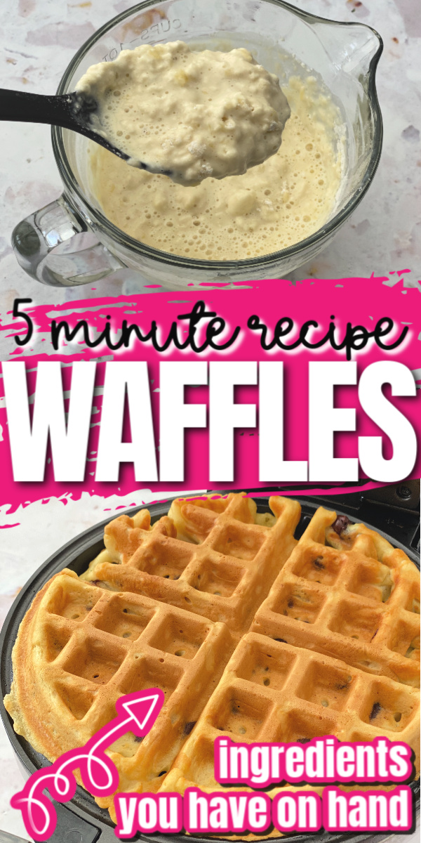 Hands down the best waffle recipe. Super easy and way better than those box mixes like Bisquick. via @raegun